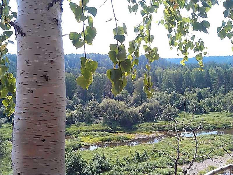 (06.07.2013 doroga) Природный парк Оленьи ручьи - Скала Утопленник