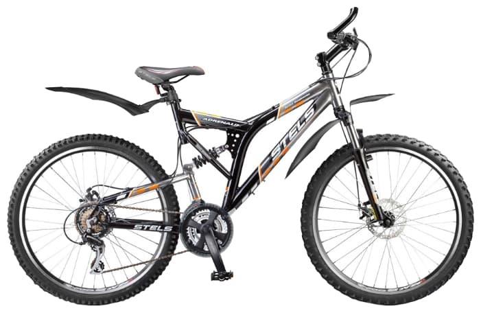 (16.08.2013 doroga) Велосипед двухподвес - Stels Adrenalin