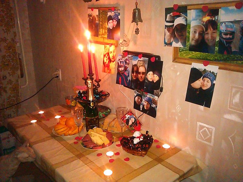 (21.01.2014 blogger) Сюрприз от любимой - На нашу годовщину