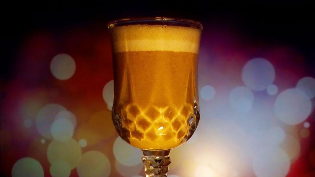 (17.03.2018 blogger) Сливочное пиво для ленивых - Алкогольное