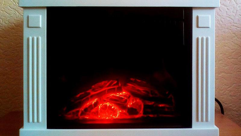 (06.06.2018 blogger) Недорогой электрокамин - Камин Electrolux EFP/M 512W