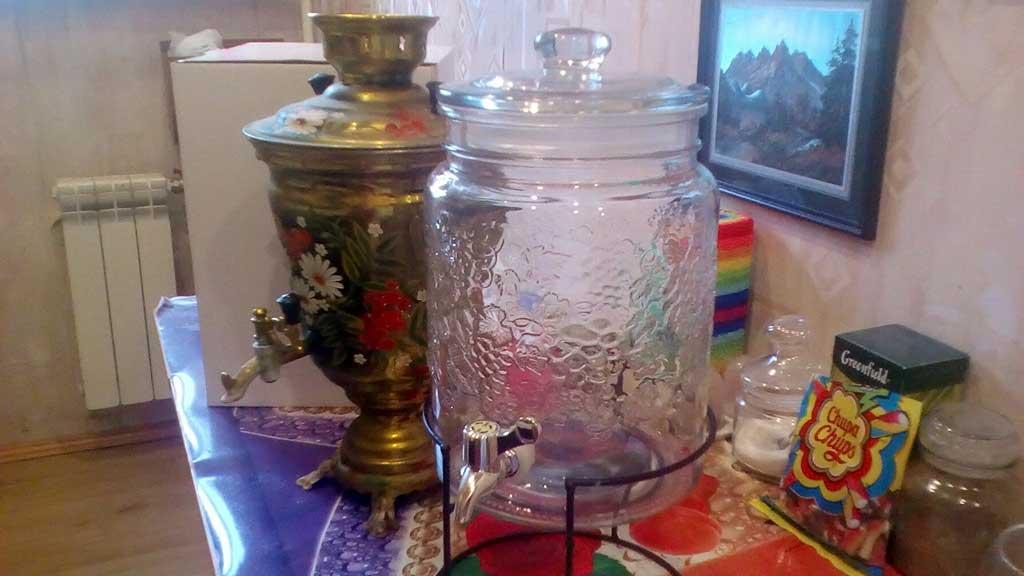 (10.06.2018 blogger) Емкость для воды на кухню - на замену старого самовара