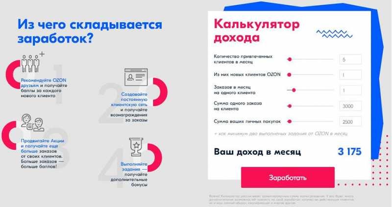 (05.11.2019 blogger, work) Партнерская программа Озон.ру закрывается - И открывается, но уже другой стороной