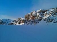 (27.01.2013 doroga) Гуляли с Аленой - Скады на реке Исеть