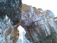 (27.01.2013 doroga) Гуляли с Аленой - Арка каменных ворот
