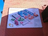 (16.02.2013 doroga) Екатеринбуржский зоопарк - Карта зданий