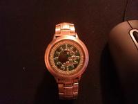 (25.02.2013 blogger) Сделал светодиодные часы - Пришлось переделать сенсорные часы, так как на почте сломали стекло