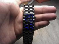 (06.03.2013 blogger) Светодиодные часы iron samurai - Подарил Алене часы-браслет на 8 марта