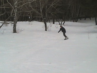 (16.03.2013 gorod ) Катались на сноуборде - Оказывается, у нас в городе тоже есть классные места