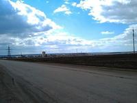 (29.04.2013 doroga) Вид на Катайск - Выезжаем из города
