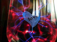 (11.05.2013 blogger) Плазмолампа - На фоне набора ножей