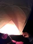 (02.06.2013 blogger) Выходные - Алена запускает фонарик