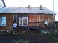 (02.06.2013 doroga) Выходные - Помогал ободрать облицовку дома (у родителей Алены)