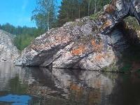 (12.06.2013 doroga) На лодке до 2 висячего моста - Каменные ворота вблизи