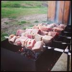 (11.05.2014 instagram, food) Шашлыки в гараже - Просто, вкусно и без повода