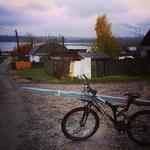 (07.10.2014 instagram, blogger) Велоконь - Правильный. Уже с копьем