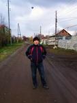(16.10.2014 me, gorod, doroga) Я и воздушный шар - В рабочей одежде в Монастырке