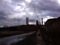 (23.04.2015 blogger) Гуляем с Сашей по Каменску - Тучи, завод УАЗ, красота!