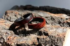 (28.06.2017 handmade) Кольцо из старой курительной трубки - Дерево - бриар (вереск после 10 лет сушки и 2 лет использования в трубке). Ну и ювелирная смола.